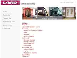 User Friendly Sitemap at Thinklaird.com
